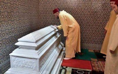 الملك محمد السادس يقيم حفلا دينيا إحياء لذكرى وفاة الراحل الحسن الثاني