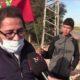 ساكنة المباركيين ببرشيد تخرج للاحتجاج على أحد ممثلي مافيا العقار الذين يتصيدون المستثمرين ويعيقون تشغيل الشباب